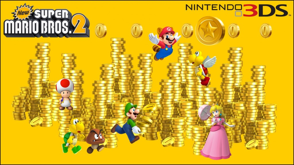 new super mario bros 2 wallpaper 2 1024x576 New Super Mario Bros. 2 Brand New Coin Rush Pack is Free!