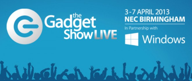 Gadget Show Live 2013 Coming This Easter