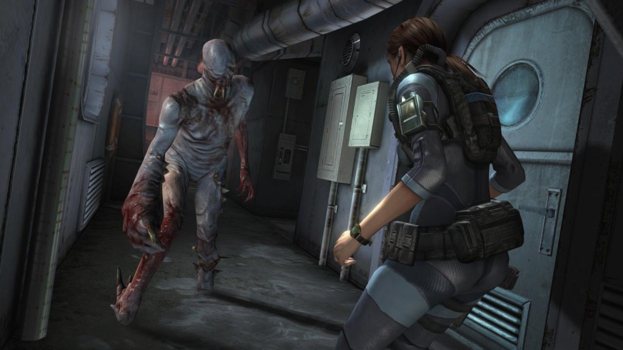 Resident Evil Revelations Hunk Gameplay