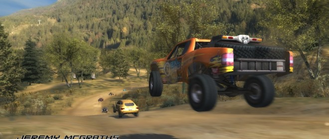 Jeremy McGrath's Offroad Now On the European PlayStation Network