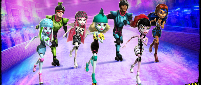 Monster High: Skultimate Roller Maze Skates Onto Nintendo 3DS