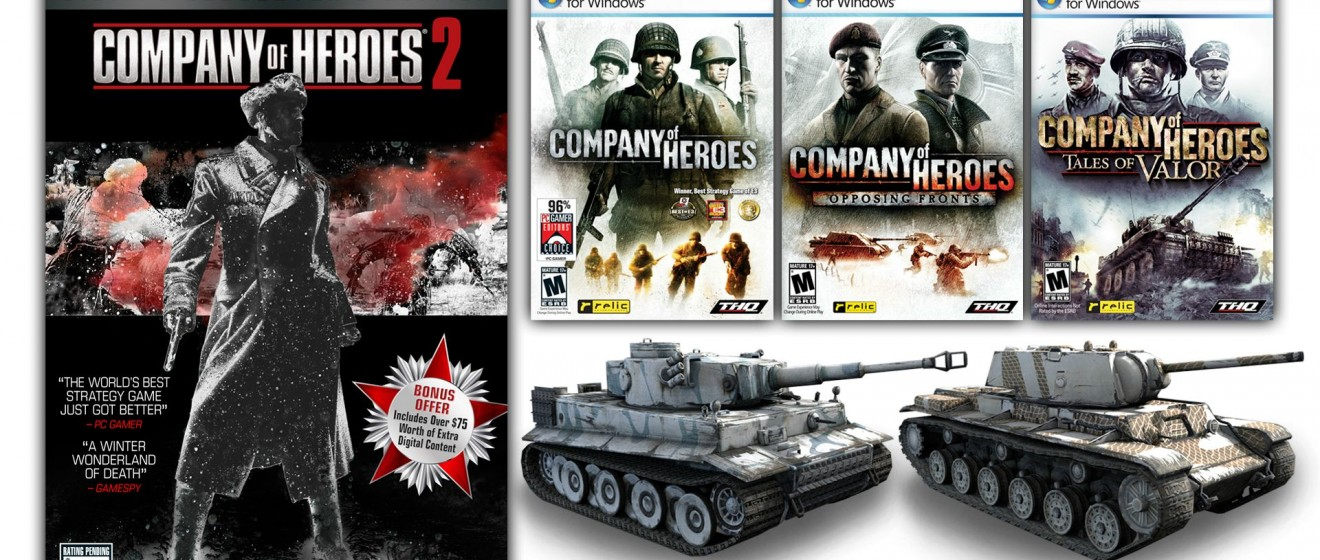Company Of Heroes 2 Pre Order Incentives Announced Einfo Games