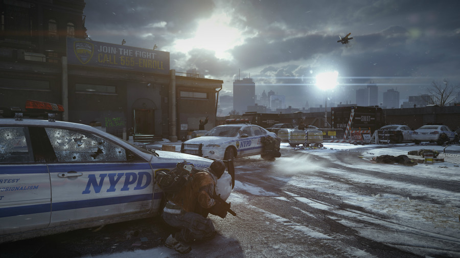 1370900979 tc the division screen police station shoot out web 130610 4h15pmpt 900x506 Ubisoft Announces Next Gen Open World RPG, Tom Clancy's The Division