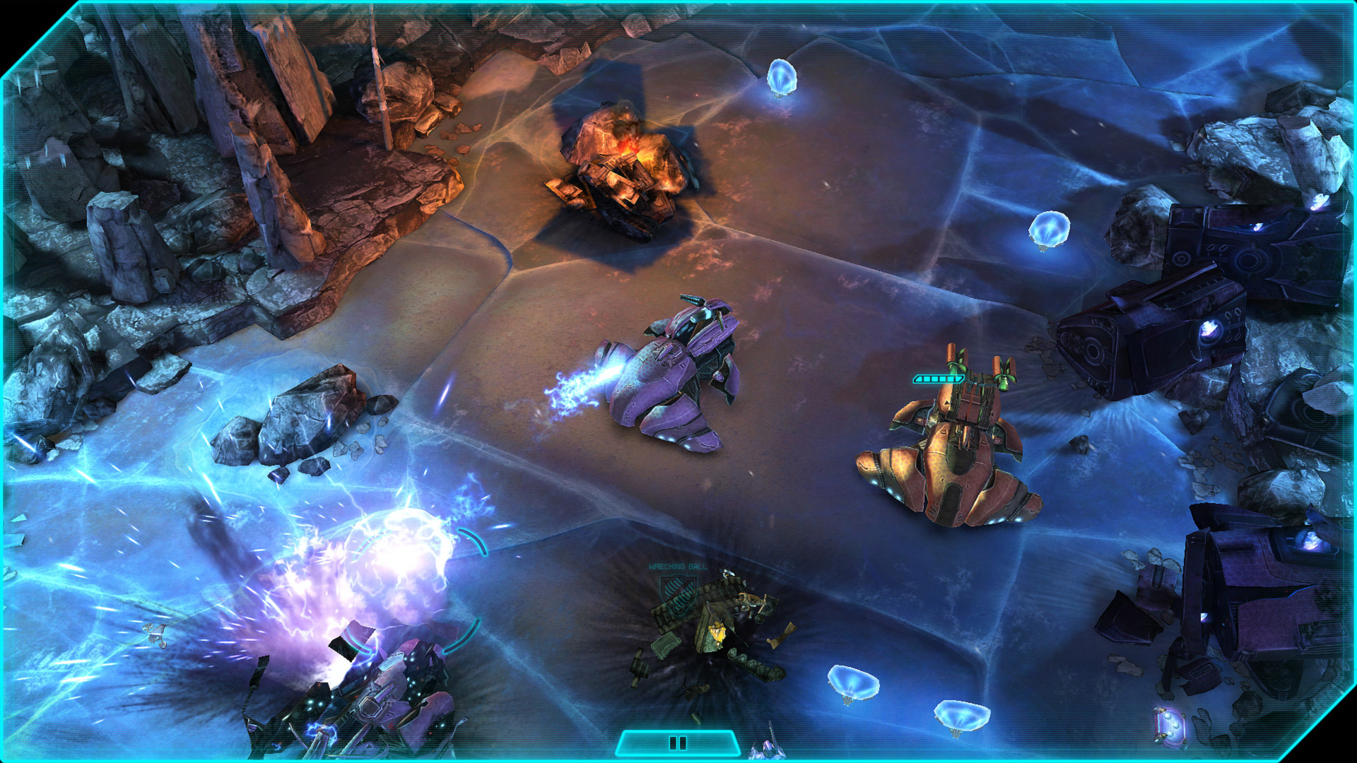 Halo Spartan Assault Screenshot Wraith Assault Halo: Spartan Assault Coming To Windows 8 Devices