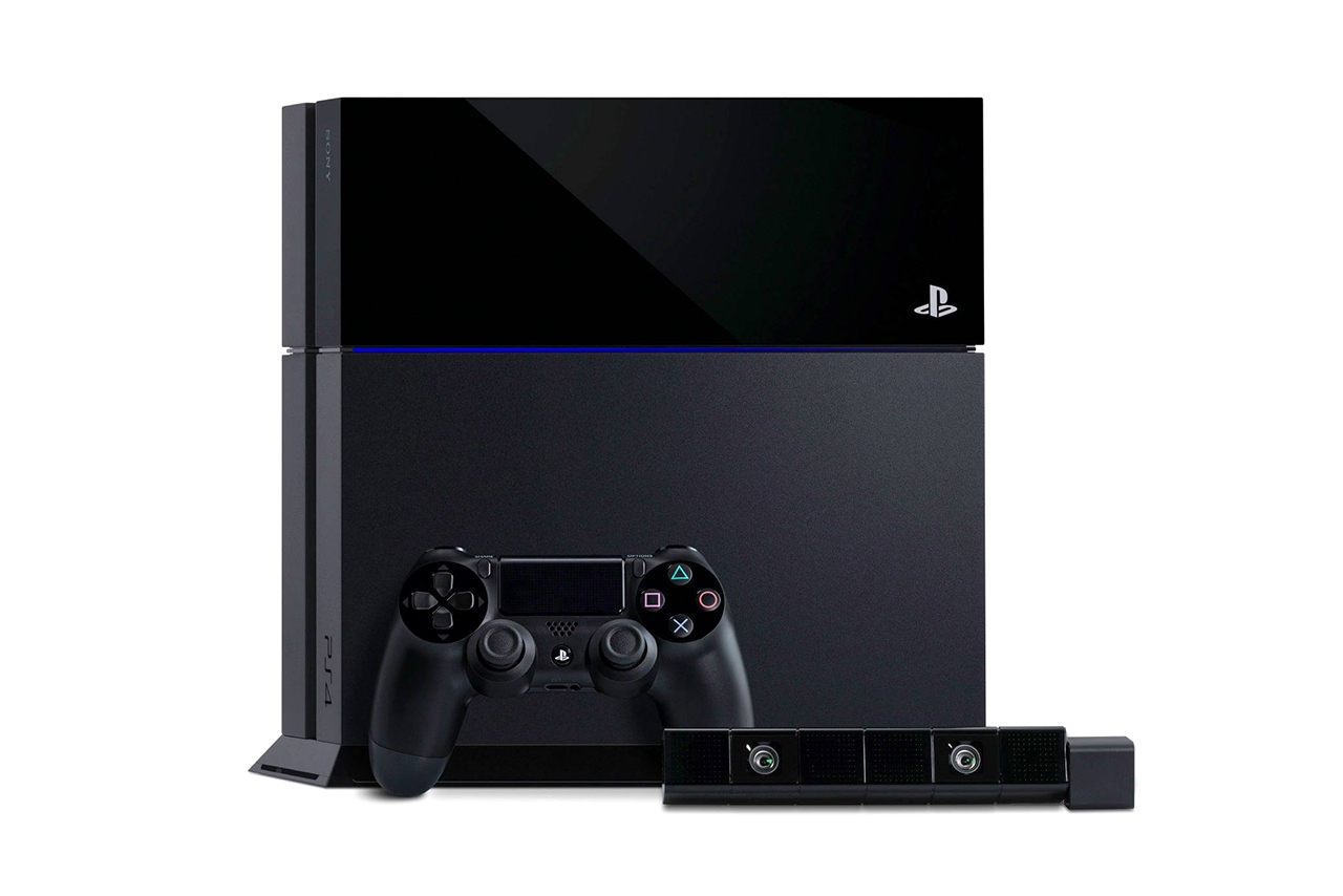PlayStation 4 Stand Up PlayStation 4 Console Design And Specs Unveiled