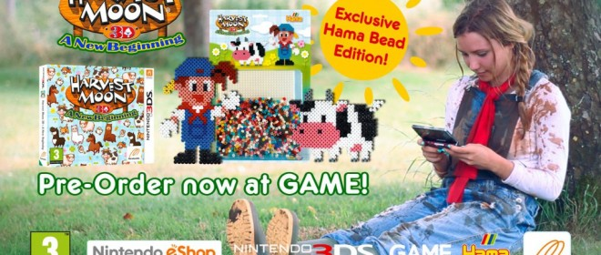 Harvest Moon A New Beginning Limited Edition Recently Announced For Europe