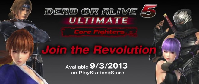 Dead Or Alive 5 Ultimate European Launch Announced