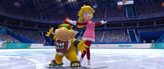 Mario and Sonic at the Sochi 2014 Winter Olympics