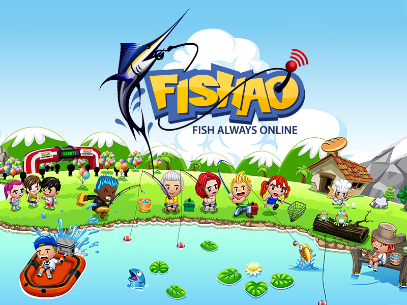 Fishao takes toomkygames by storm einfo games for Real life fishing games