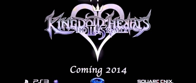 Kingdom Hearts HD 2.5 Remix Has Been Announced