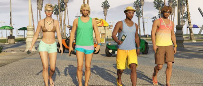 GTA Online Beach Bum Pack releases next week