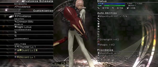 Square Enix new Lightning Return Shop and Customization trailer