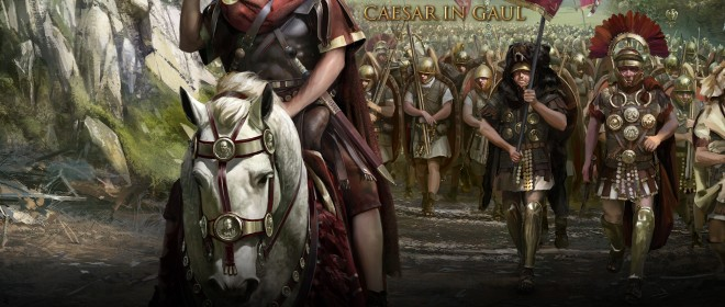 Caesar in Gaul expansion announced for Total War Rome II