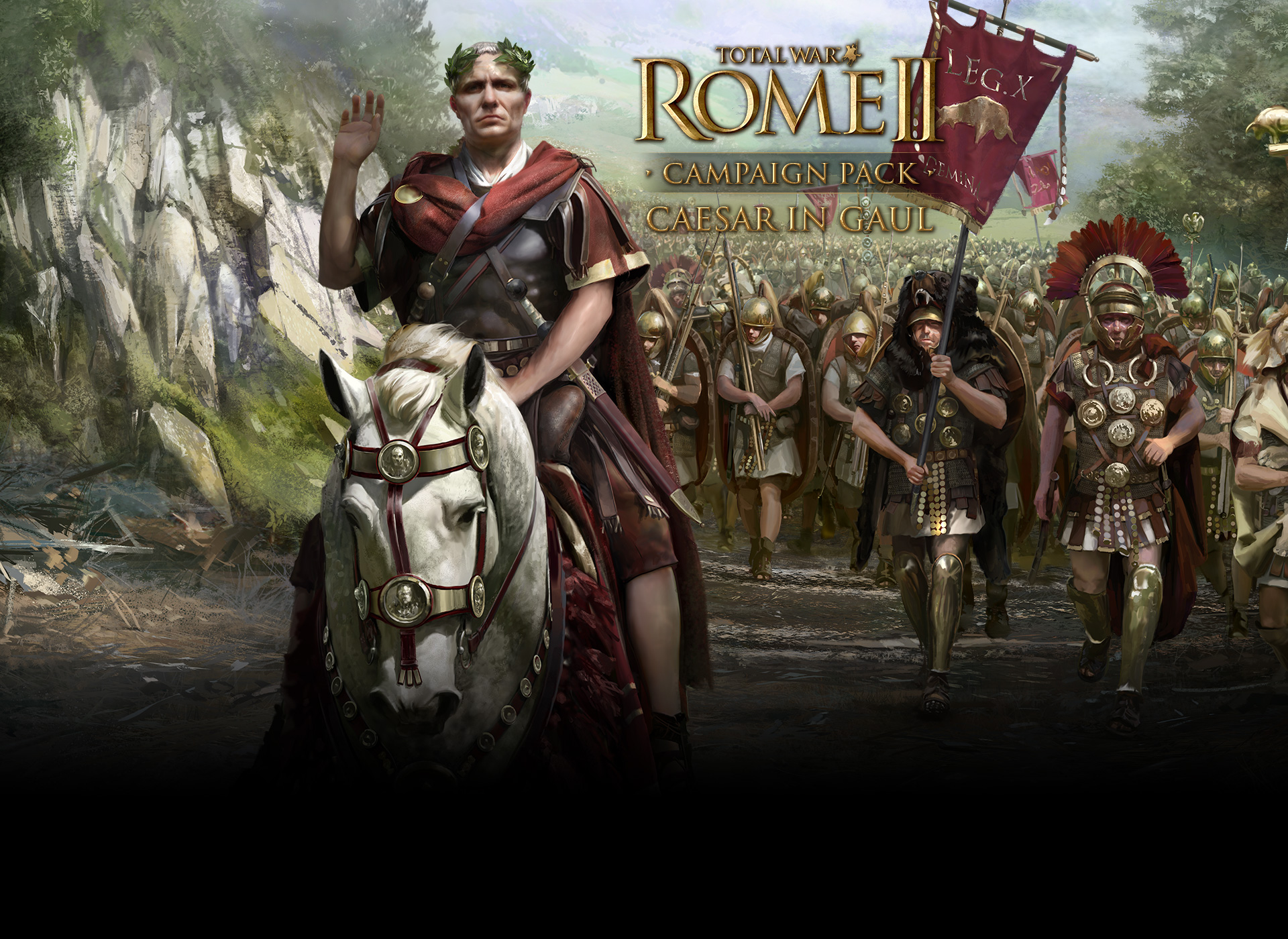 Anyone have a wallpaper for the caesar in gaul expansion - Caesar hd wallpaper ...