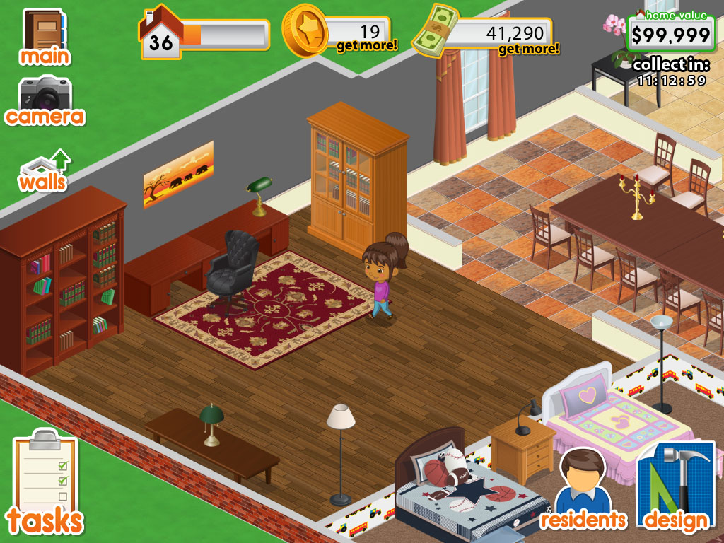 Design this home now on pc Create a house online game
