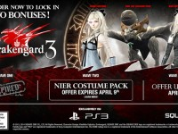 Drakengard 3 Novella pre-order items announced