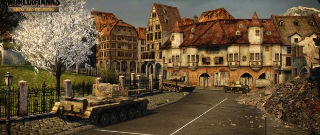World of Tanks Xbox 360 Map Madness