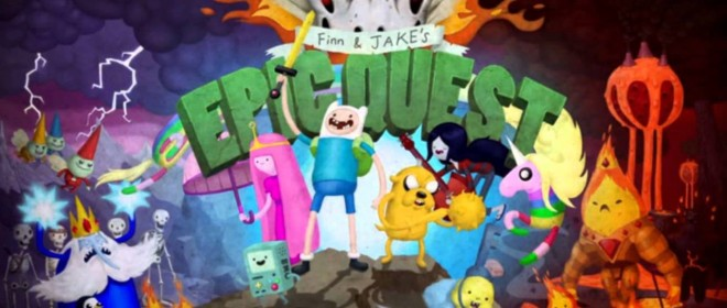 Adventure Time: Finn and Jake's Epic Quest Now On Steam