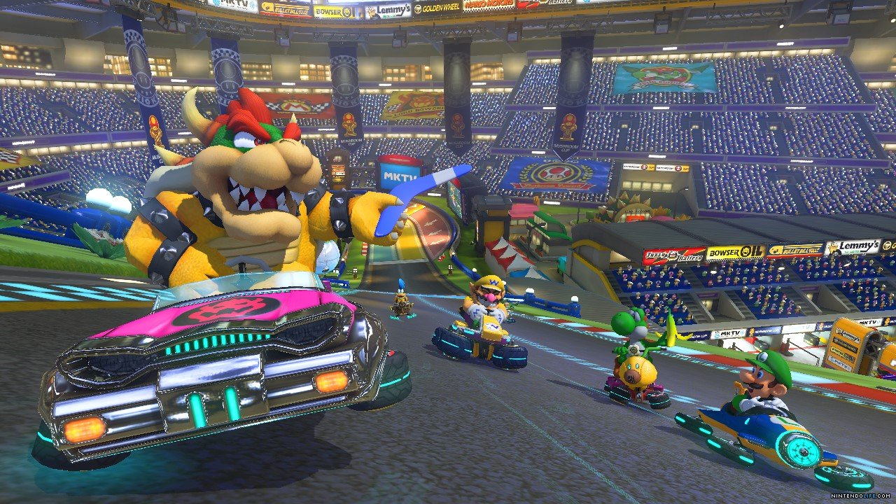 mario kart 8 new information announced. Black Bedroom Furniture Sets. Home Design Ideas