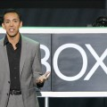 Mehdi, Chief Marketing Officer, Interactive Entertainment for Microsoft, introduces XBox Music at Microsoft XBox news briefing in Los Angeles