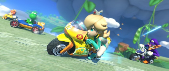 Mario Kart 8 Gameplay Features