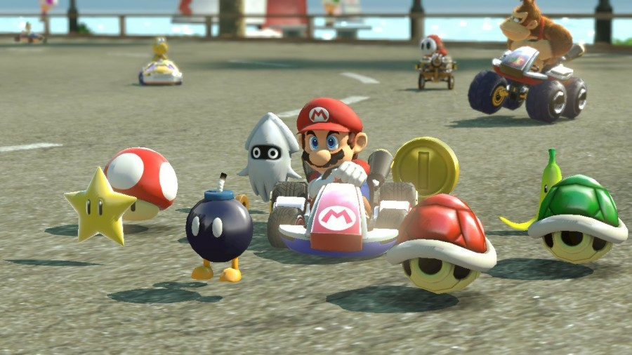 The new 'Crazy Eight' collection of items could quickly change a whole race. Mario has never looked more threatening.