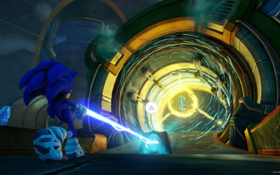 The new Enerbeam helps Sonic and friends zap around to different areas