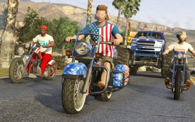 GTA Online Independence Day 2 400x250 Sitewide Activity