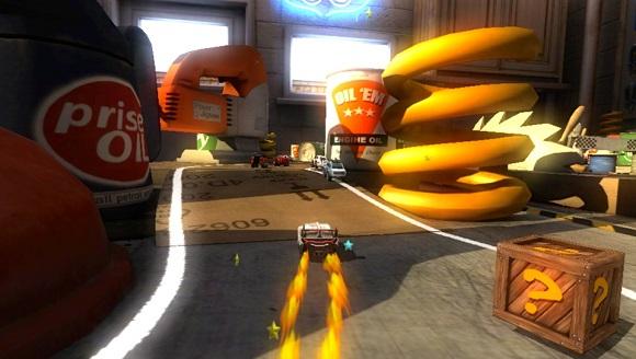 Table Top Racing PS Vita screenshot 1 Sitewide Activity