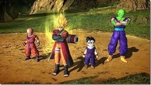 dbz pic 1 NAMCO UNVEILS  NEW DRAGON BALL Z: BATTLE OF Z DLC