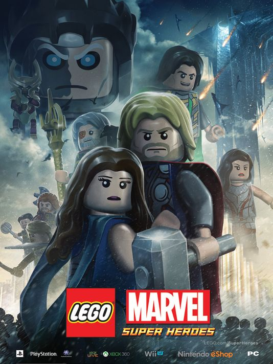 1381247699000 LegoThorPoster LEGO Marvel Superheroes meets Thor: The Dark World !!!
