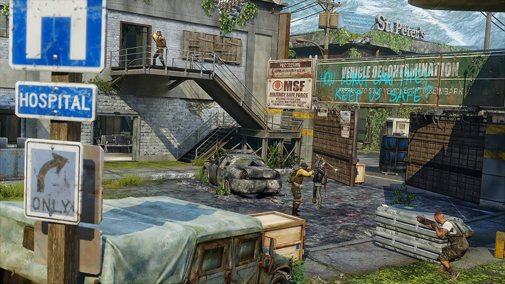 The Last Of Us New Patch And Map Pack Available Now - The last of us new maps