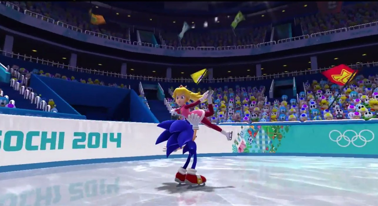 Mario and Sonic at the Sochi 2014 Winter Olympics - Einfo Games