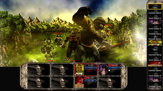 Lords Of Xulima Combat with Ogres Lords of Xulima Kickstarter Close to Goal
