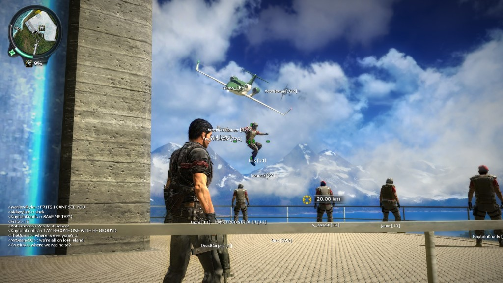 jc2mp11 1024x576 Just Cause 2 Multiplayer Mod Review
