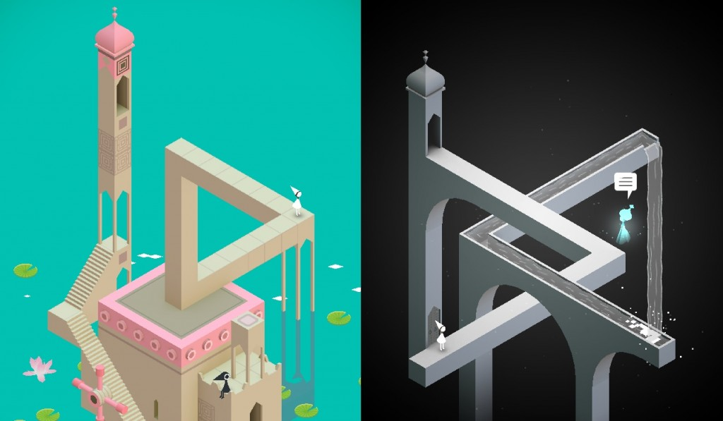 Monument Valley Gameplay 1024x597 Monument Valley Review